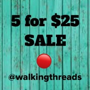 5 for $25 🔴 sale! ALL kids clothes included too